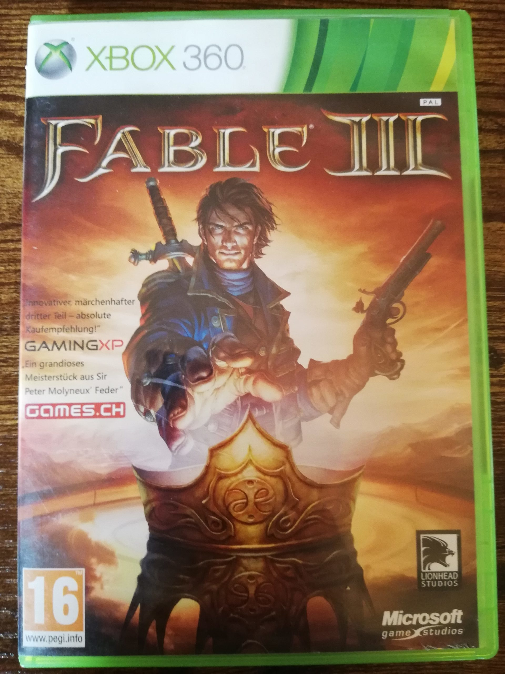 Produkt-Tag: Fable 3