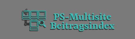Multisite Beitragsindex Plugin