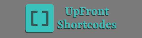 UpFront Shortcodes